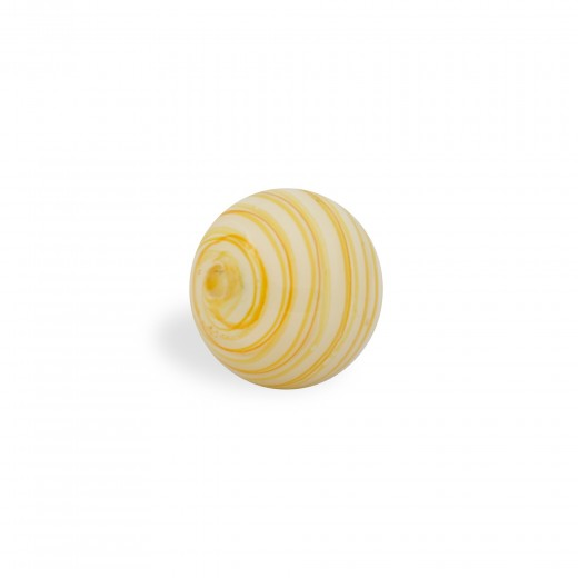 CRISTAL WAVED STRIPES 10MM MELOCOTON BLANCO (ID 1MM)