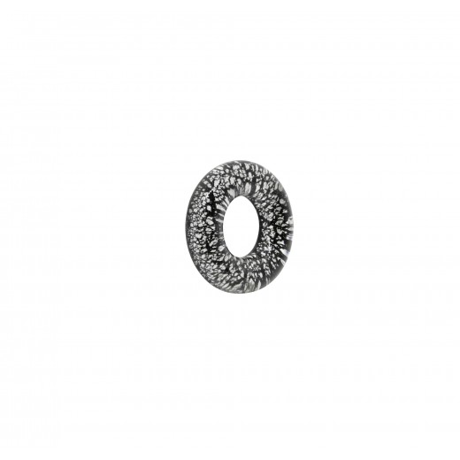 AROS BASE PLATA 20MM NEGRO