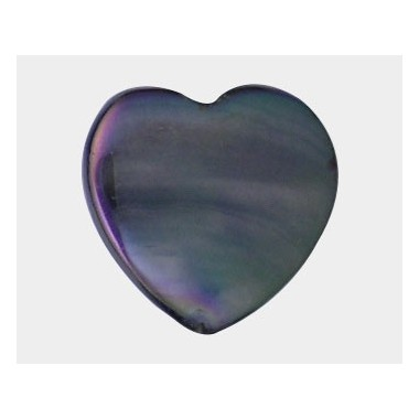NACAR GRIS 25 MM CORAZON