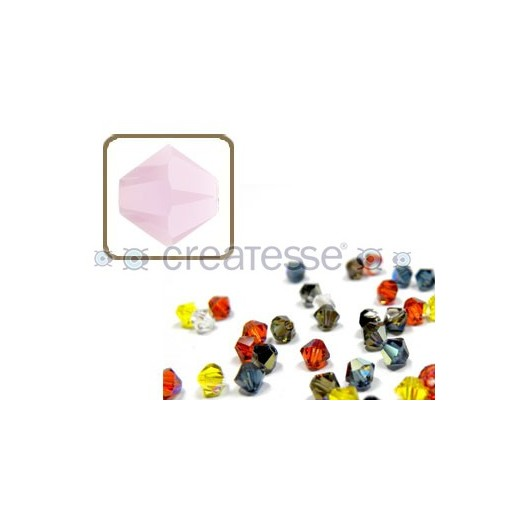 TUPPI 4 MM- 24 UN 293 ROSE ALABASTER SWAROVSKI