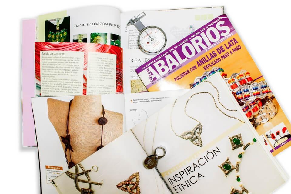Libros y Revistas de Bisutería