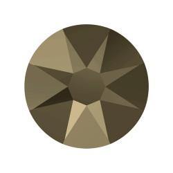 CHATON HOTFIX SS34 -9UN 001 CRISTAL GOLDEN SHADOW SW